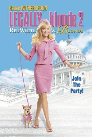 Legally Blonde 2: Red, White & Blonde 1382x2048