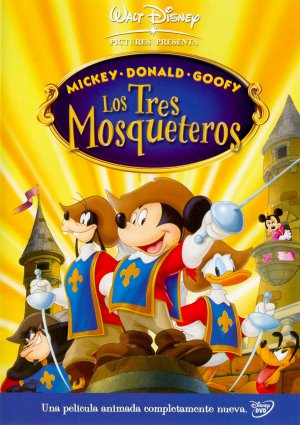 Mickey, Donald, Goofy: The Three Musketeers 1535x2177