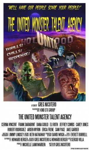 The United Monster Talent Agency Poster