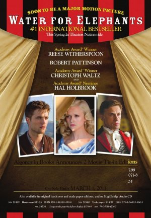 Water for Elephants 900x1300