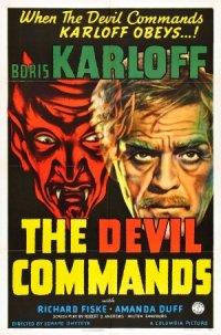 The Devil Commands poster