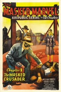 The Masked Marvel poster