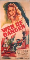 Web of Danger Poster
