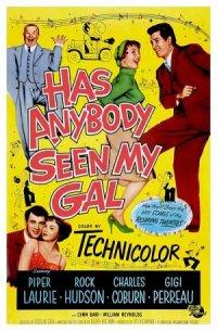 Has Anybody Seen My Gal poster