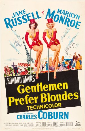 Gentlemen Prefer Blondes 1957x3000