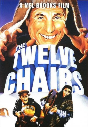 The Twelve Chairs Dvd cover