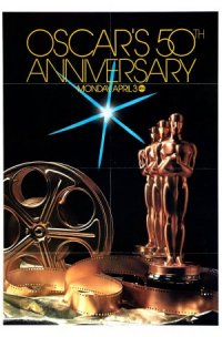 The 50th Annual Academy Awards poster