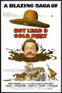 Hot Lead and Cold Feet poster