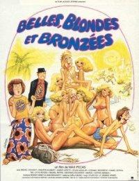 Belles, blondes et bronzées poster