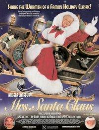 Mrs. Santa Claus poster