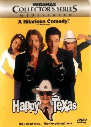 Happy, Texas Dvd cover