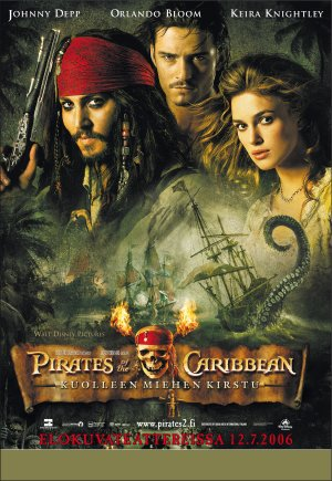 Pirates of the Caribbean: Dead Man's Chest 2008x2914