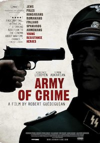 L'armée du crime poster