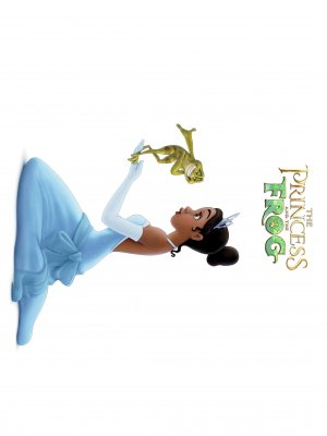 The Princess and the Frog 2253x3003