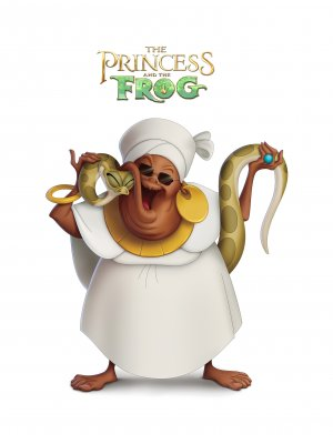 The Princess and the Frog 2054x2738