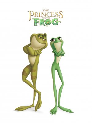 The Princess and the Frog 1912x2549