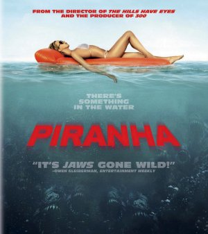 Piranha Blu-ray cover