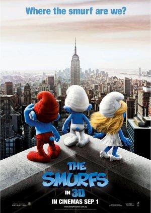 The Smurfs 1450x2048
