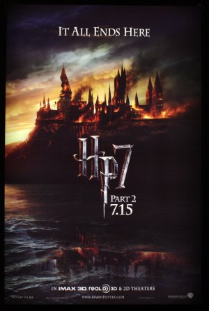 Harry Potter and the Deathly Hallows: Part 2 1129x1684