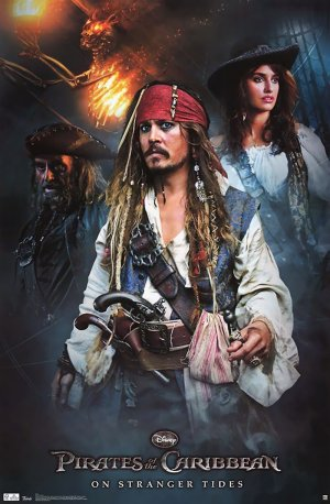 Pirates of the Caribbean: On Stranger Tides 800x1221