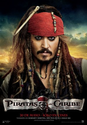 Pirates of the Caribbean: On Stranger Tides 1015x1445