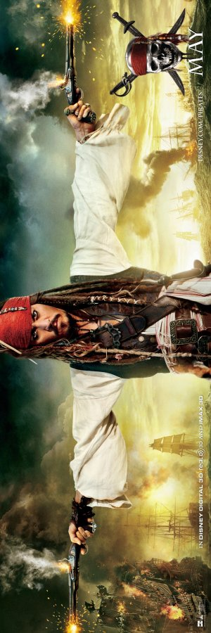 Pirates of the Caribbean: On Stranger Tides 1100x3300