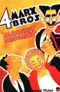 Monkey Business - Quattro folli in alto mare poster
