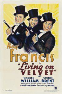Living on Velvet poster