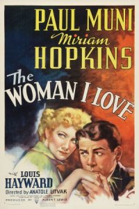 The Woman I Love poster