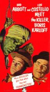 Abbott and Costello Meet the Killer, Boris Karloff Cover