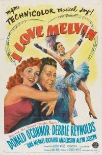 I Love Melvin poster