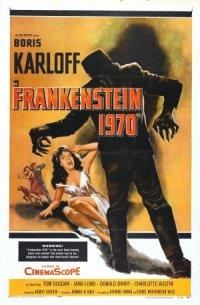 Frankenstein 1970 poster