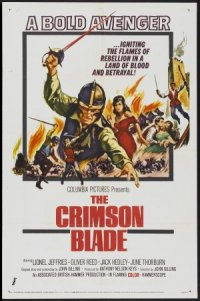 The Crimson Blade poster