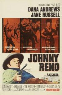 Johnny Reno poster