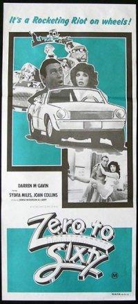 Zero to Sixty poster
