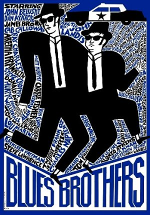 The Blues Brothers 349x500