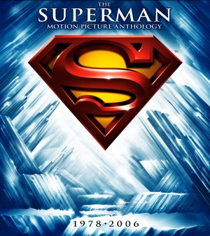 Superman IV: The Quest for Peace Blu-ray cover
