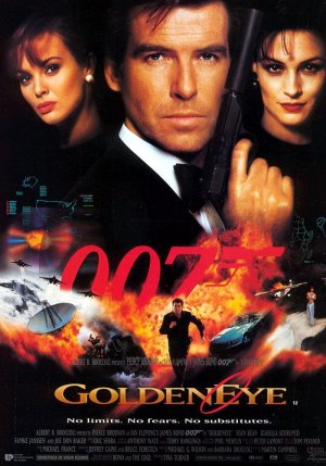 GoldenEye PosterGoldeneye Movie Poster