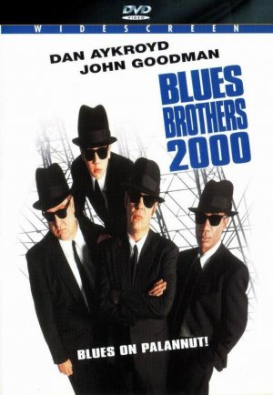 Blues Brothers 2000 Dvd cover