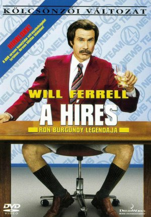 Anchorman: The Legend of Ron Burgundy 1517x2173