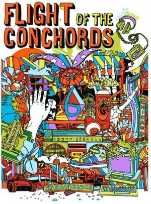 Flight of the Conchords 411x556
