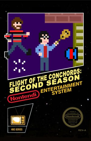 Flight of the Conchords 3235x5000