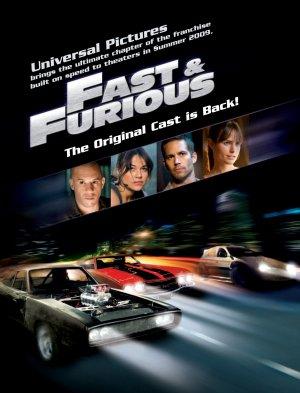 Fast & Furious 1353x1772