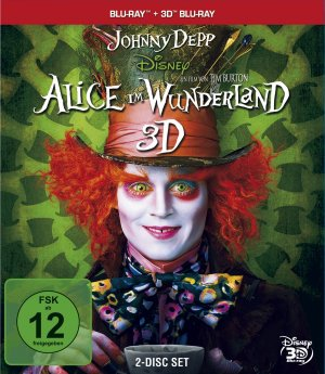 Alice in Wonderland Blu-ray cover
