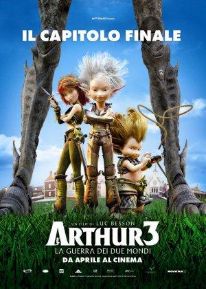 Arthur und die Minimoys 3 - Die große Entscheidung 714x1000