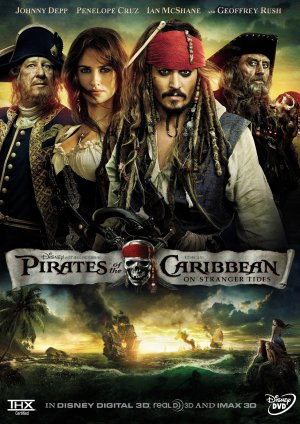 Pirates of the Caribbean: On Stranger Tides 1540x2175