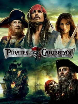 Pirates of the Caribbean: On Stranger Tides 450x600