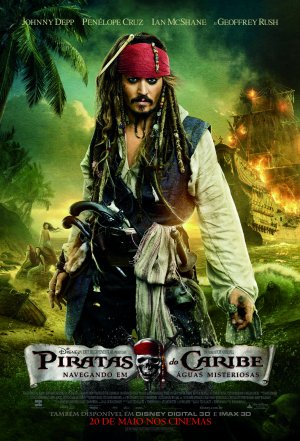 Pirates of the Caribbean: On Stranger Tides 1607x2362