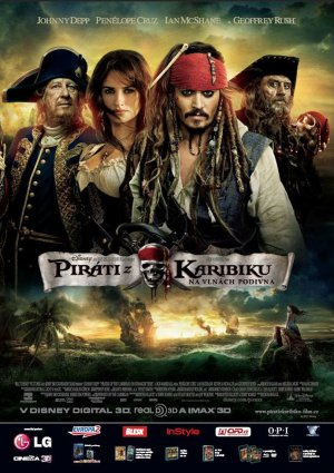 Pirates of the Caribbean: On Stranger Tides 990x1404
