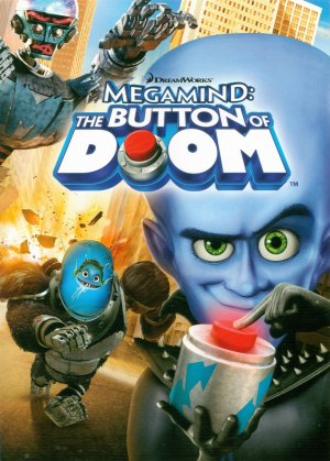 Megamind: The Button of Doom Dvd cover